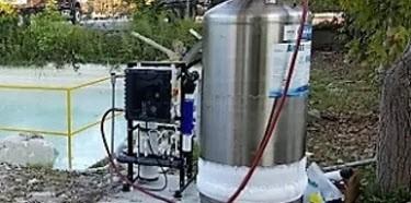 CO2 Water tank